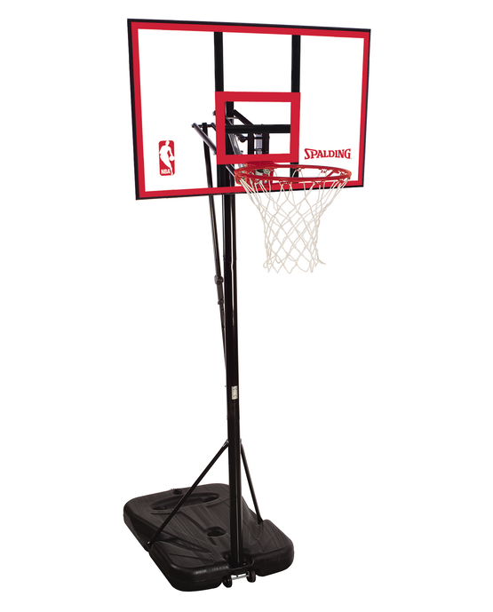 """44"""" Pro Glide™ Polycarbonate Portable Basketball Hoop System"""