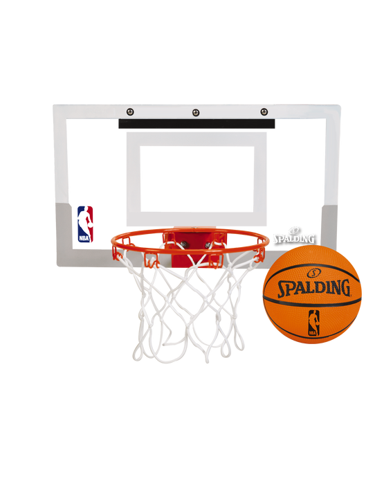 NBA Slam Jam® Over-the-Door Mini Basketball Hoop