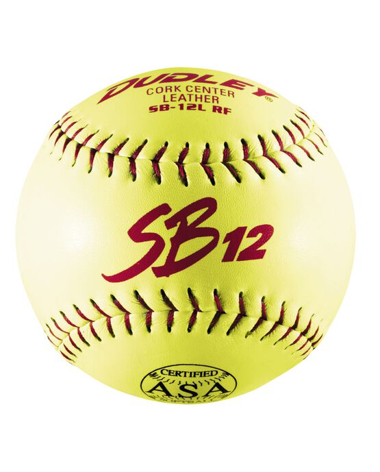 "12"" ASA SBC11 SLOWPITCH SOFTBALL - 12 PACK"
