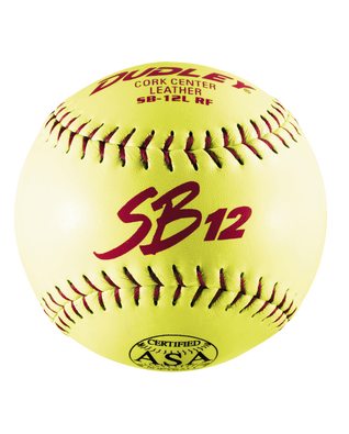 ASA SB 12L SLOWPITCH SOFTBALL - 12 PACK