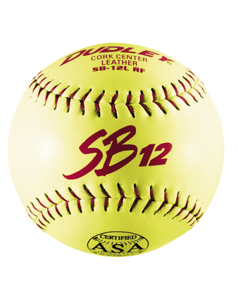 "12"" ASA SB12 SLOWPITCH SOFTBALL - 12 PACK"