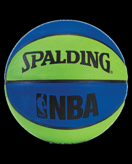 NBA Mini Basketball - Blue and Green Blue/Green