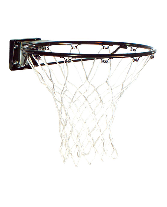 Slam Jam® Basketball Rim - Black black