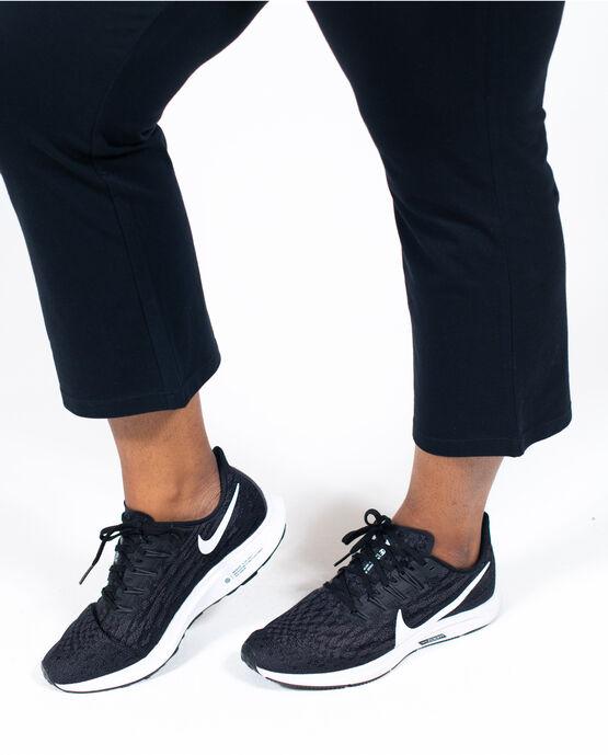 Women's Flare Capri Legging Plus Size Black 2X BLACK