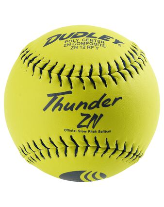 "12"" USSSA THUNDER ZN STADIUM STAMP SLOWPITCH SOFTBALL - 12 PACK"
