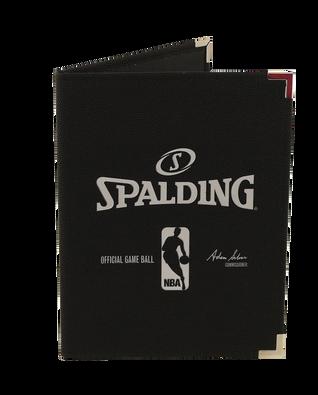BLACK NBA PAD HOLDER