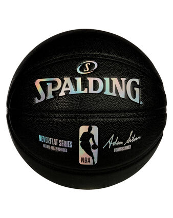 NBA NeverFlat® Game Ball Replica Series Basketball - Black