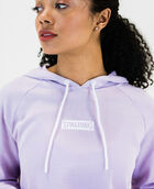 Women's Super Soft Cropped Hoodie Blue Lilac Small BLUE LILAC