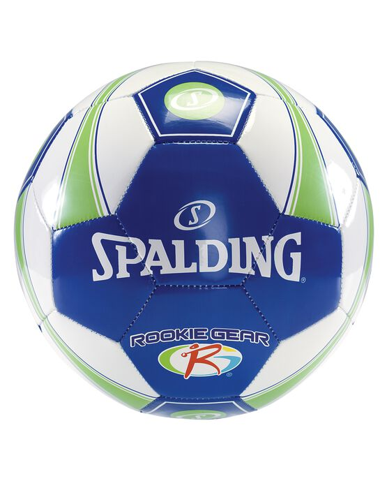 SPALDING ROOKIE GEAR® SOCCER BALL Blue/Green