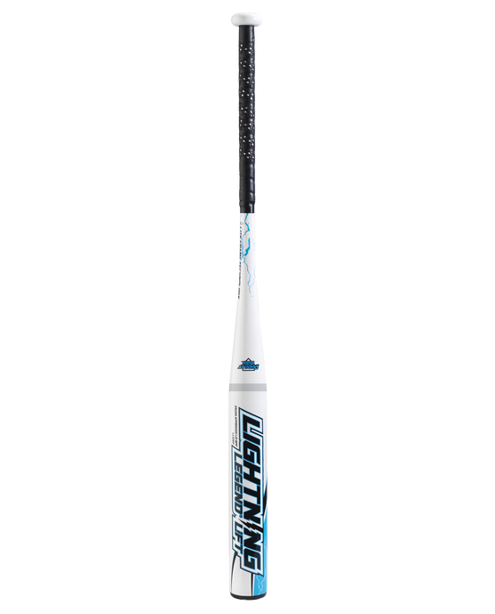 Lightning Legend Lift 27 ounce Senior Softball Bat - White/Blue