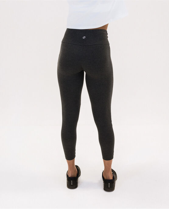 "Women's 25.5"" Legging Charcoal Heather Large CHARCOAL HEATHER"
