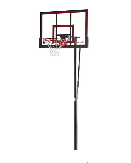 "Pro Glide™ In-Ground Basketball Hoop System - 48"" Polycarbonate"