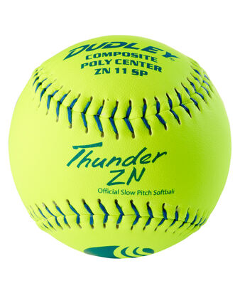 "11"" CLASSIC-W STAMP SLOWPITCH SOFTBALL - 12 PACK"