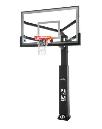 Arena View® Series Glass In-Ground Basketball Hoop