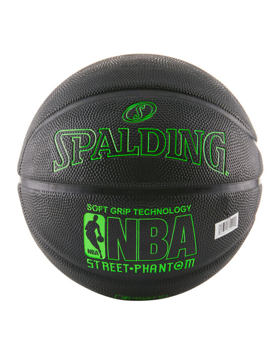 NBA Street Phantom Black and Neon Green Outdoor Basketball neongreen/black