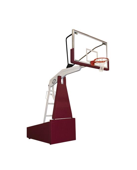 """G5™ 72"""" Glass Portable Basketball Hoop"""