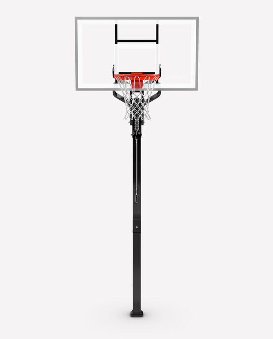 "54"" Tempered Glass U-Turn® In-Ground Basketball Hoop"