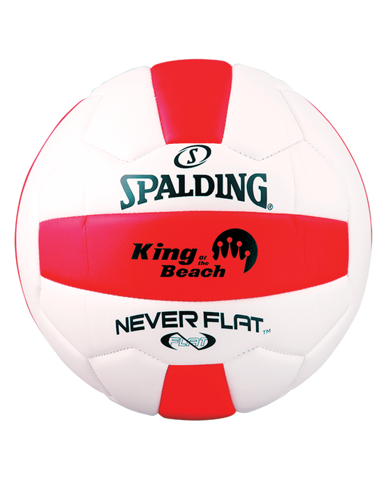 NEVERFLAT® EVA VOLLEYBALL Red/White