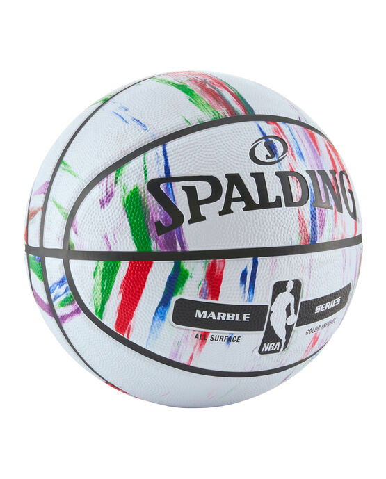 "NBA Marble Series Multi-Color Outdoor Basketball - 29.5"""
