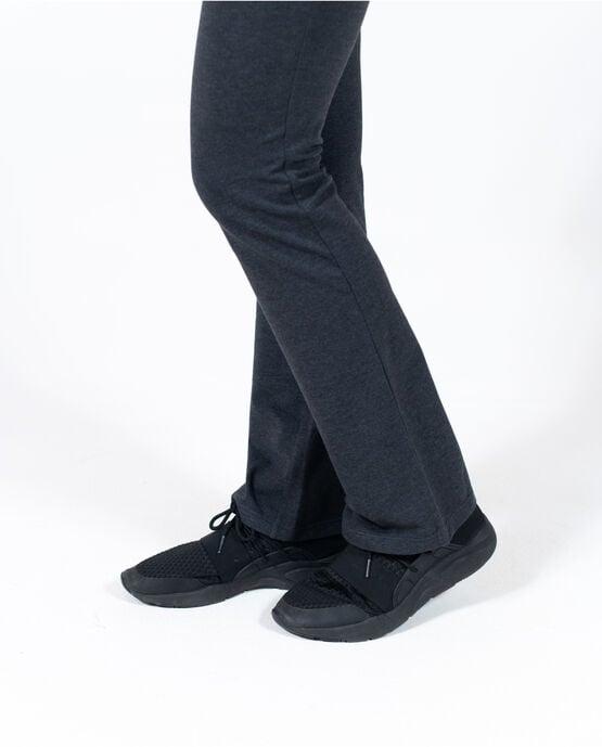 Women's Slim Fit Yoga Pant Charcoal Heather XL CHARCOAL HEATHER