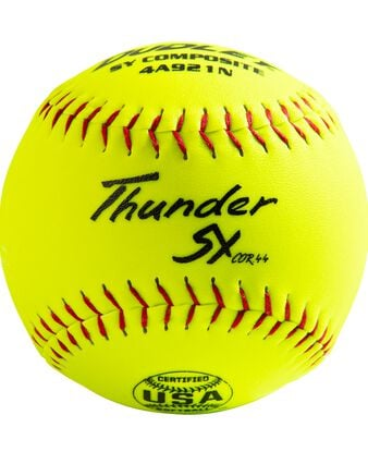 "12"" USASB THUNDER SLOWPITCH SOFTBALL - 12 PACK"