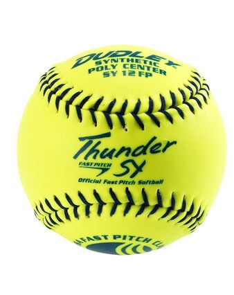 "12"" USSSA THUNDER SY FASTPITCH SOFTBALL-12 PACK"