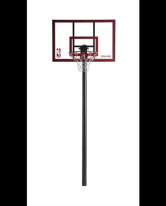 "Ratchet Lift 44"" In-Ground Basketball Hoop"