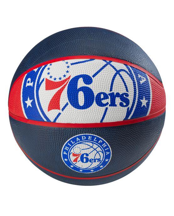 Philadelphia 76ers Spalding NBA Courtside Team Outdoor Basketball