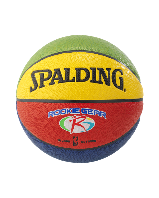 SPALDING ROOKIE GEAR® SOFT GRIP BASKETBALL Multi-Color