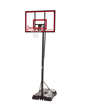 "Hercules Jr.® 44"" Polycarbonate Portable Basketball Hoop"