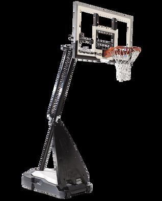 Ultimate Hybrid Portable Basketball Hoop System