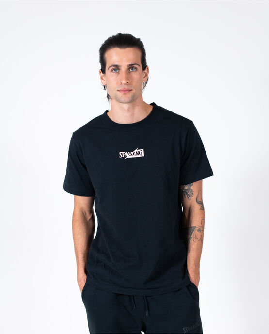 Men's Logo Short Sleeve Tee Black Large BLACK