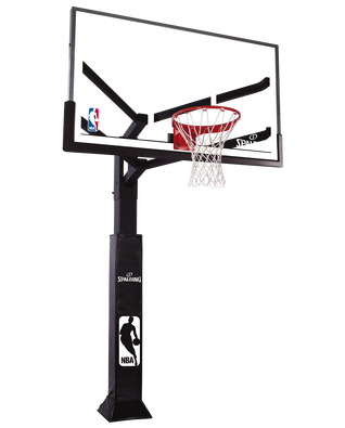"Spalding 72""  Arena View® Series In-Ground Basketball Hoop System"