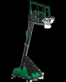 "Hercules® Pro Glide 54"" Acrylic Portable Basketball Hoop System Green"