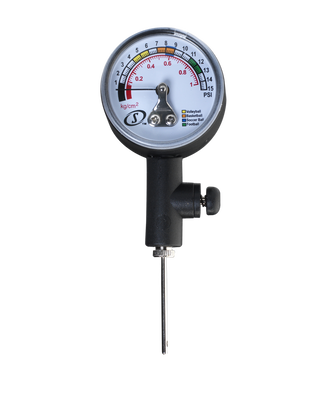 Analog Ball Air Pressure Gauge