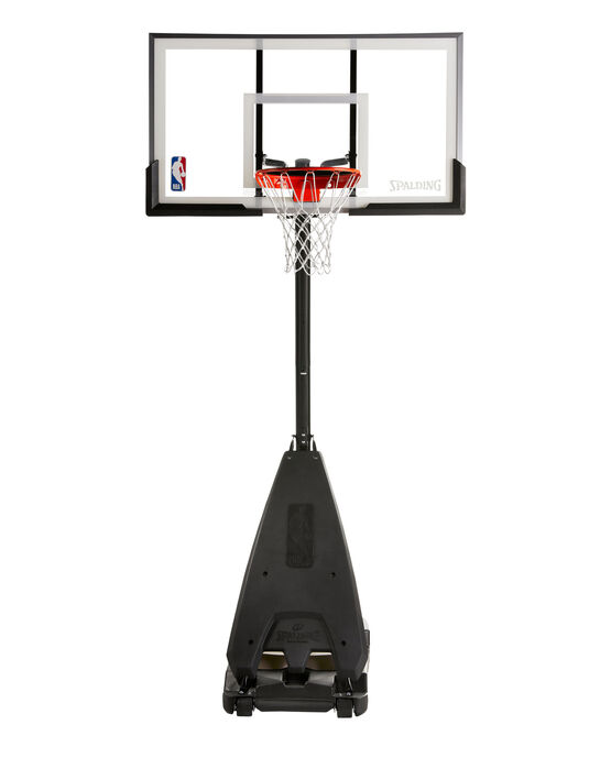 "Ultimate Hybrid® 54"" Acrylic Portable Basketball Hoop"
