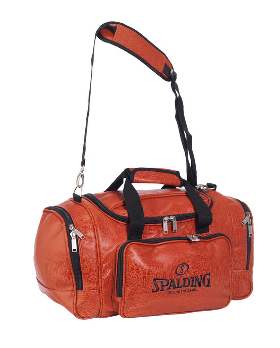 Leather Basketball Duffle Bag