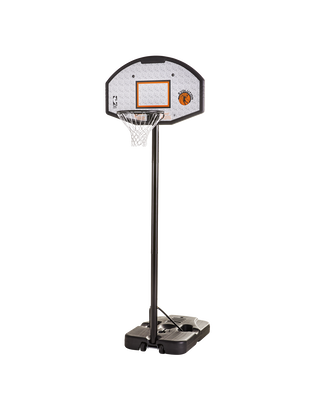 "Eco-Composite 44"" Telescoping Portable Basketball Hoop"