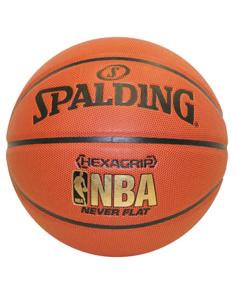 NEVERFLAT® HEXAGRIP COMPOSITE BASKETBALL