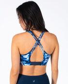 Women's Cross Back Sports Bra Sky Tie Dye XS SKY TIE DYE