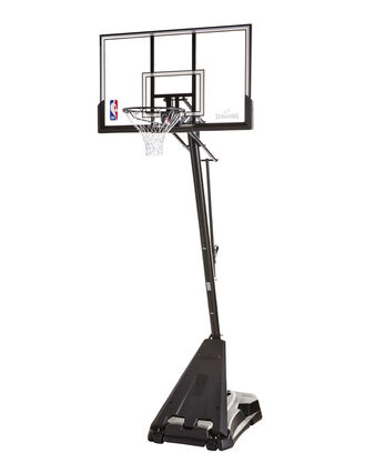 Hercules® Pro Glide Advance Acrylic Portable Basketball Hoop