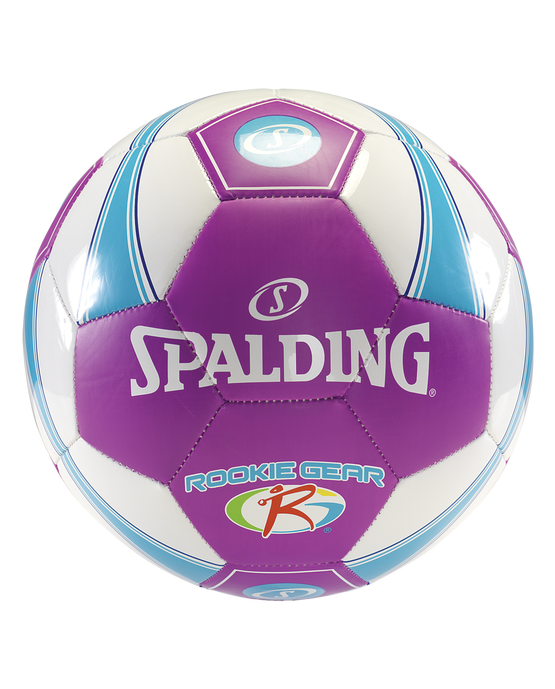 SPALDING ROOKIE GEAR® SOCCER BALL Pink/Blue