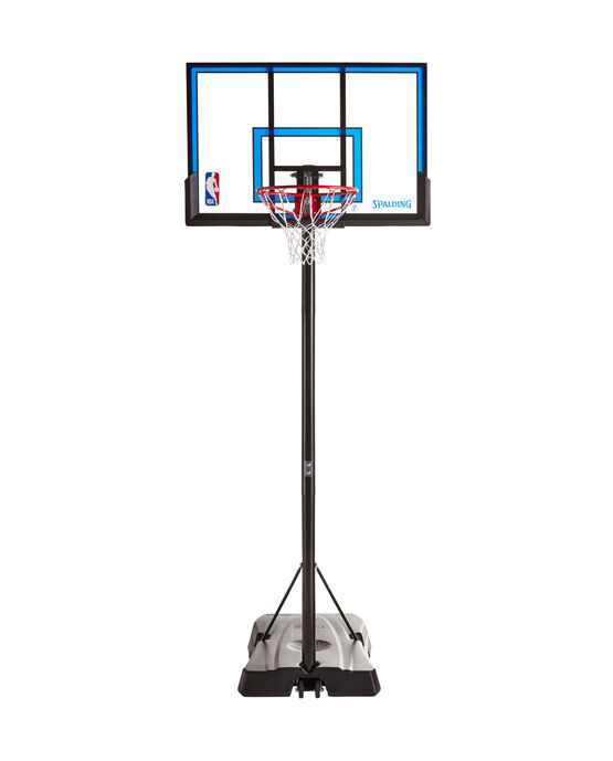 "Hercules Jr.® 48"" Polycarbonate Portable Basketball Hoop"