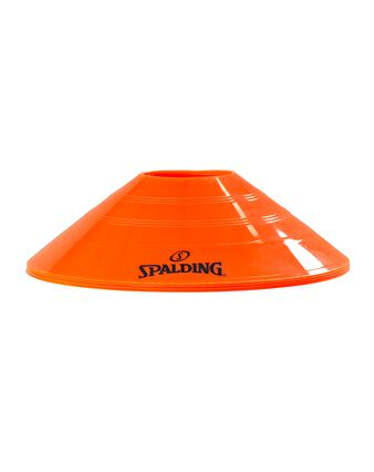 4-PACK ORANGE DISC CONES