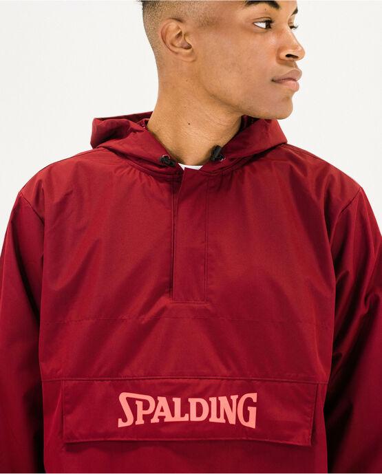 Spalding Men's Light Weight Windbreaker Maroon XL MAROON