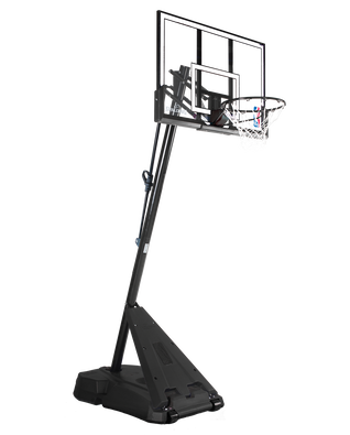 Hercules® Pro Glide Advanced® Portable Basketball Hoop System - Acrylic