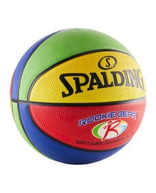Rookie Gear® Soft Grip Multi Color Youth Indoor/Outdoor Basketball multicolor
