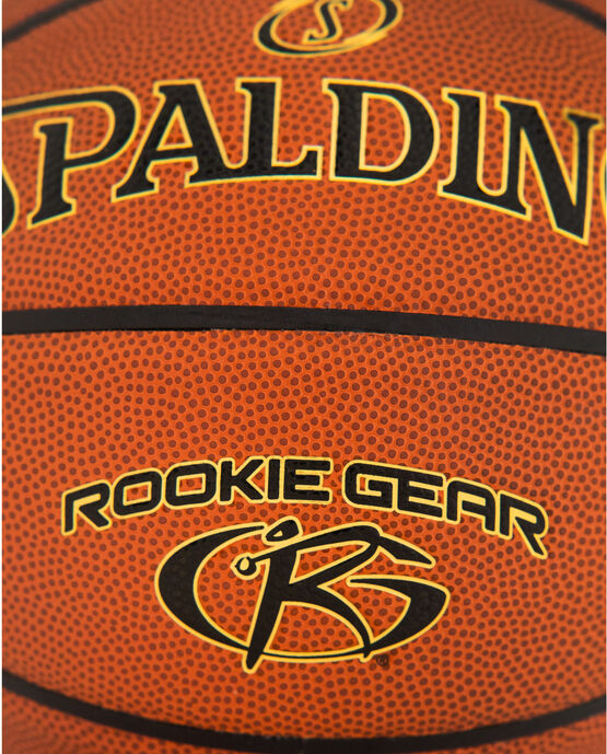 Rookie Gear® Brown Youth Indoor-Outdoor Basketball Brown