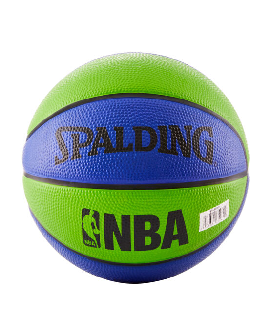 NBA Mini Basketball - Blue and Green