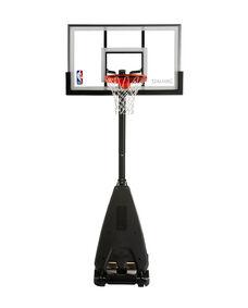 "Ultimate Hybrid® 54"" Acrylic Portable Basketball Hoop"